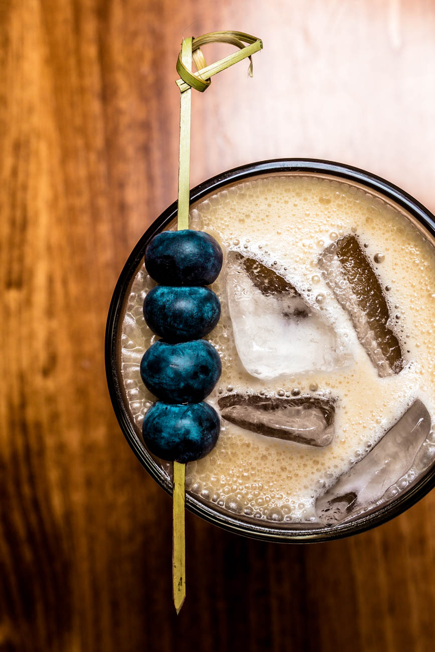 Gal in a Fur Coat: iced coffee, Galliano, fernet, and coconut milk / Image: Amy Elisabeth Spasoff // Published: 2.6.18