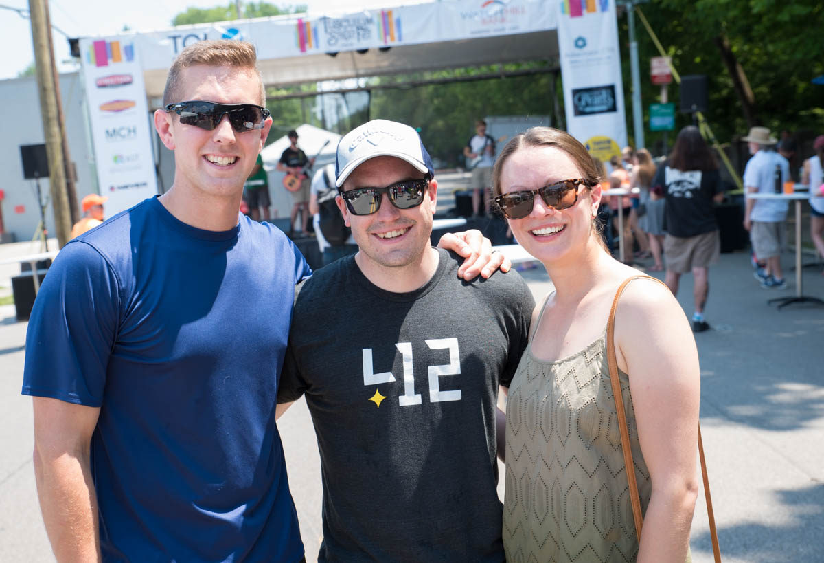 Kyle Grabowski, Justin Grau, and Mikaela Maddock / Image: Sherry Lachelle Photography // Published: 6.17.18<br><p></p>