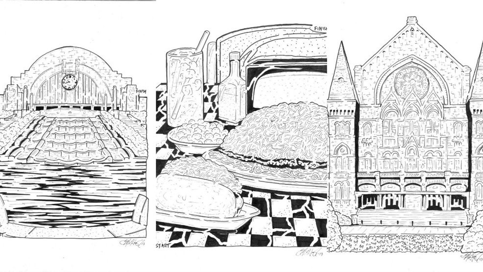 This Cincinnati Native Has Made A Career Out Of Drawing Intricate Incredible Mazes