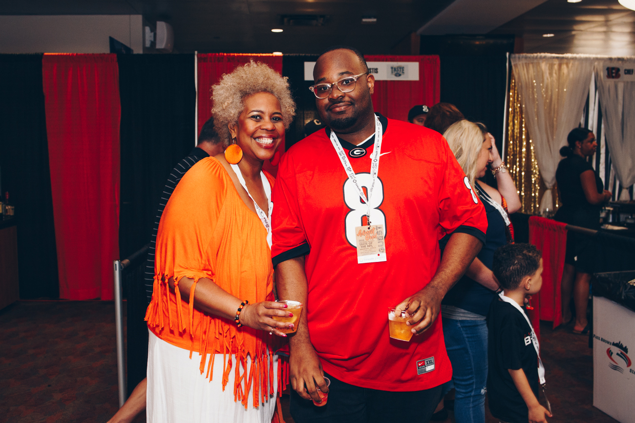 Valerie and Curtis Boykins /{ }Image: Catherine Viox // Published: 6.14.18
