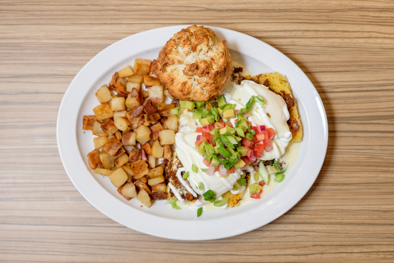 The Kalamity Katie's Border Benedict / ADDRESS: 301 E. Fourth Street, Downtown / Image: Daniel Smyth